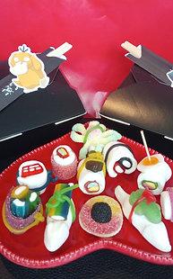 Pokemon snoep sushi