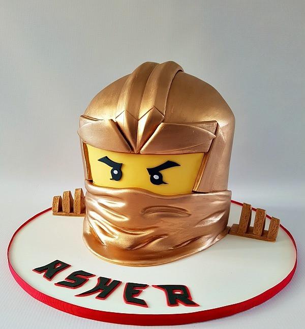 Ninjago taart kinderfeestje