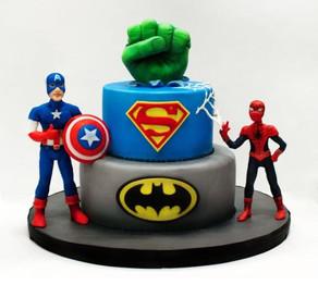 Leuke superhelden taarten
