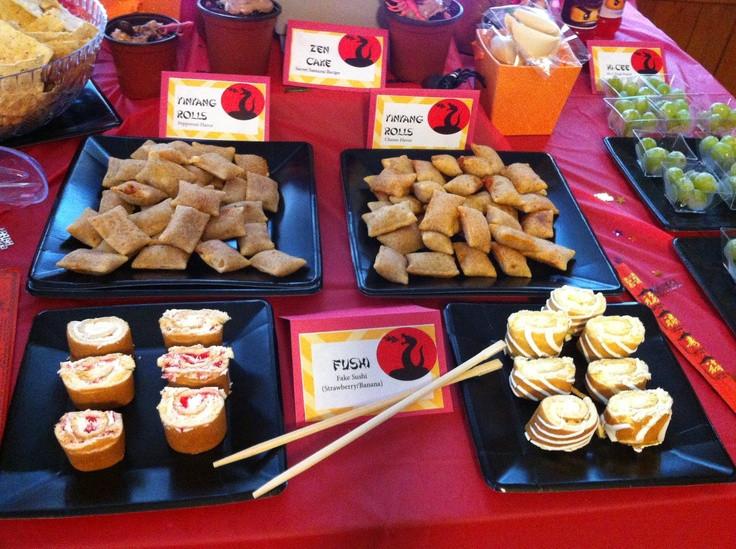 snoep sushi voor bij kinderfeestje lego ninjago