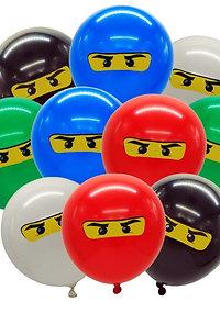 Lego Ninjago ballonnen 5 stuks