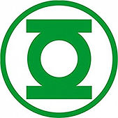 logo green lantern - theme kinderfeestjes thuis - themakisten