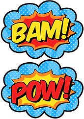 bam superhelden feest thema kinderfeestjes thuis - themakisten