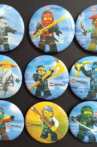 Lego Ninjago button