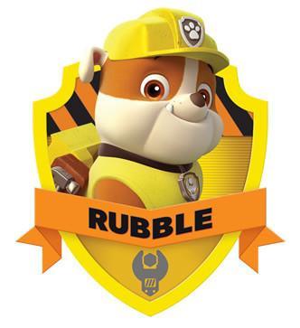 rubble paw patrol