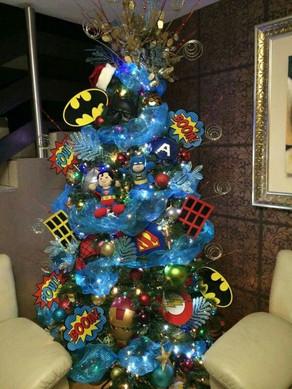 Thema kerstbomen voor uw kinderfeestje