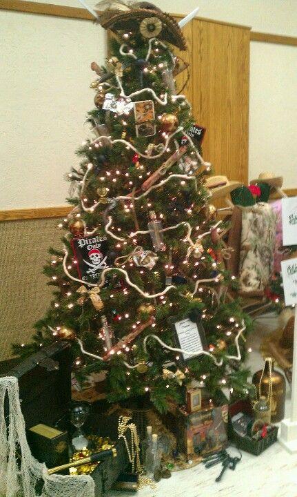 Pirate christmas tree