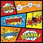 achtergrond superhelden - thema kinderfeestjes thuis themakist
