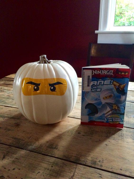 Lego ninjago pompoen