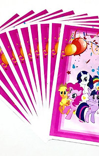 My little pony traktatiezakjes