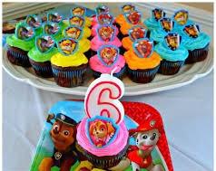 Paw patrol cupcake