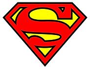 logo superman superhelden feest - theme kinderfeestjes thuis - themakisten