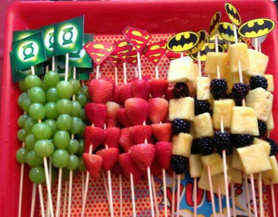 Gezonde snack superhelden