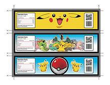 pokemon label- thema kinderfeestjes thuis themakist