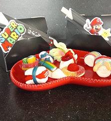 Super Mario snoep sushi