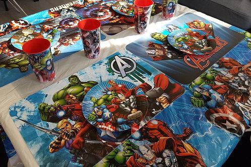 Superhelden eet pakket