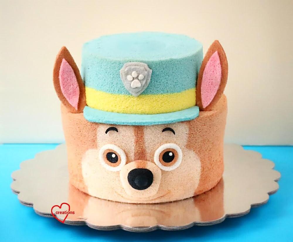 Paw Patrol taart kinderfeestje