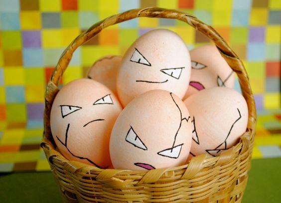 exeggcute eieren pasen