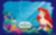 zeemeerin achtergrond - thema kinderfeestjes thuis themakist