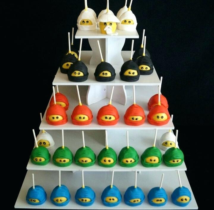 Ninjago cupcakes kinderfeestje