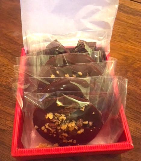 チョコラッピング