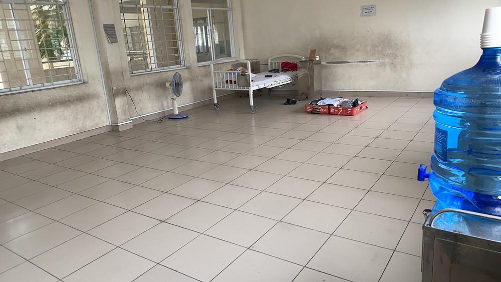 隔離病棟へ。。。