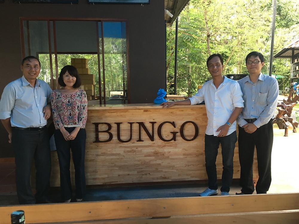 BUNGOという名前のブランドで販売