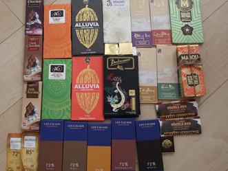 ベトナムで販売されているBEAN TO BAR チョコレート