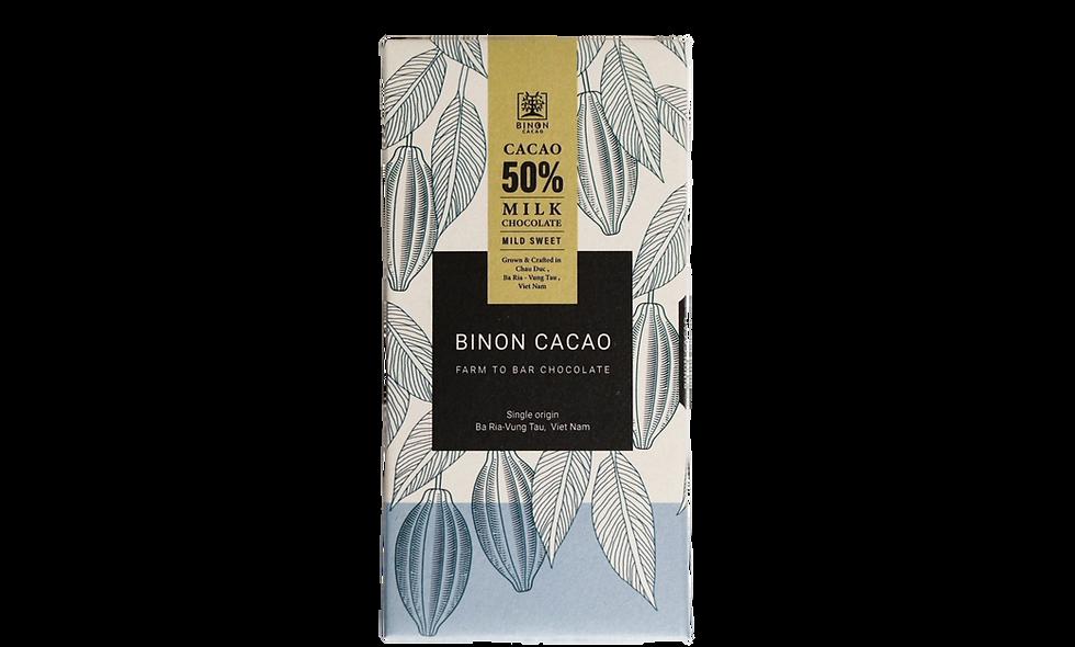 BINON ファームトゥーバーチョコレート タブレット 大