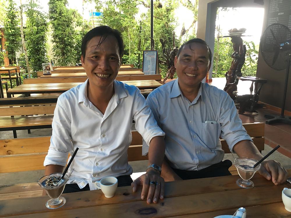 KHANH社長とタインさん