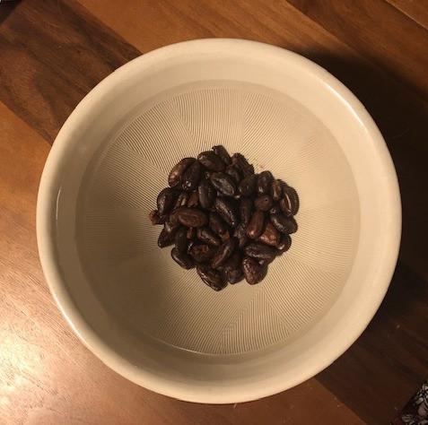 カカオ豆状態