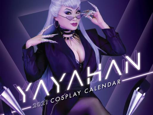 Get my 2021 Cosplay Calendar!