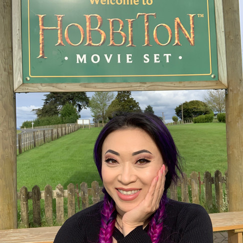 I… went to Hobbiton…