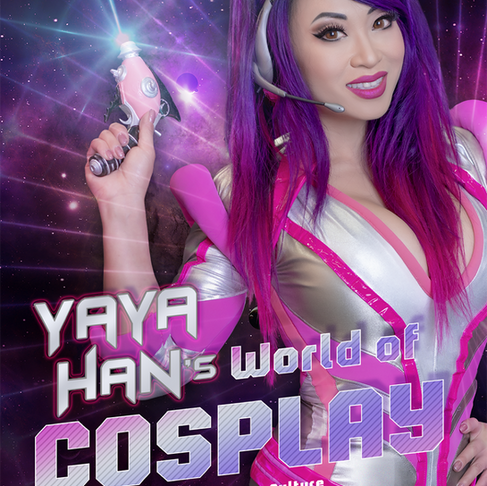 I wrote a book about cosplay!