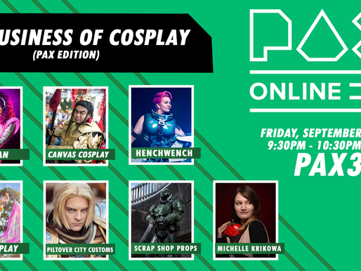 "PAX Online Panel ""The Business of Cosplay"""