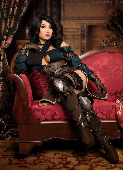 Signed Poster/Print - Lounging Yennefer