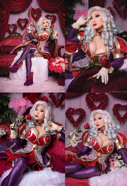 Set of 4 Signed Posters/Prints - Ashe's Valentine