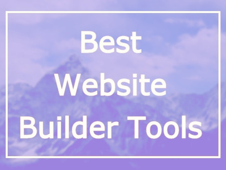 Best Website Builder tools of 2020 -With their pros, cons, and pricing.