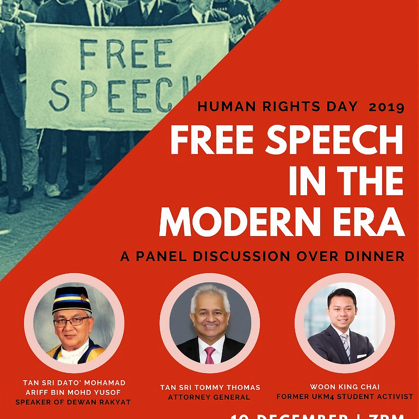 Free Speech in the Modern Era