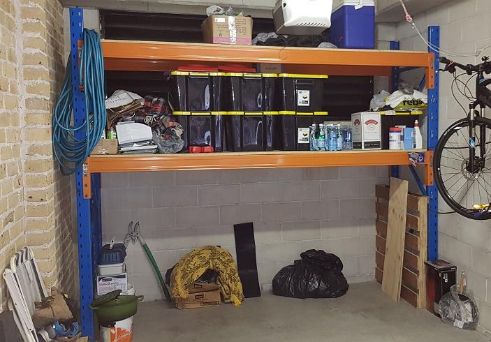 Used Racking Garage