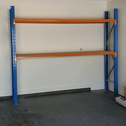 New Over-Bonnet Shelving - Timber Shelves