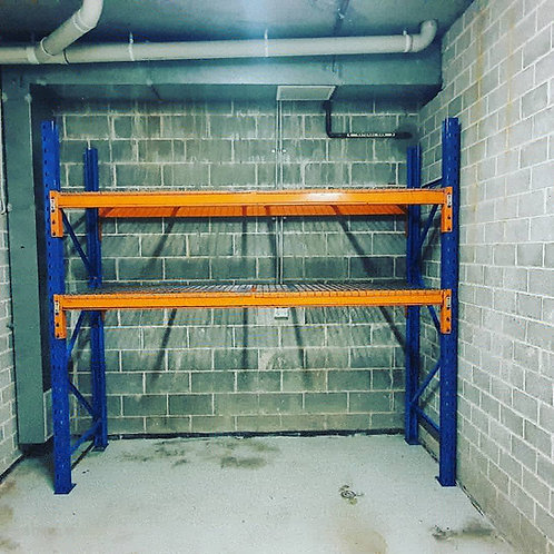 Used Over-Bonnet Shelving -Wire Shelves
