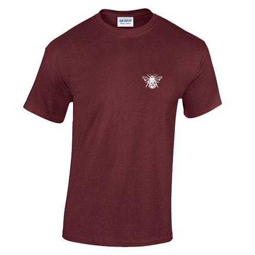 Burgundy Bee T-Shirt