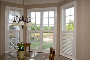 Cafe Style or half height shutters