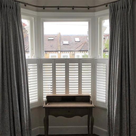 Cafe bedroom shutters