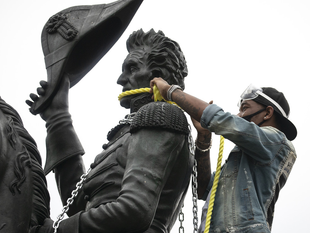 TEARING DOWN MONUMENTS AND HOW TYRANNY WORKS