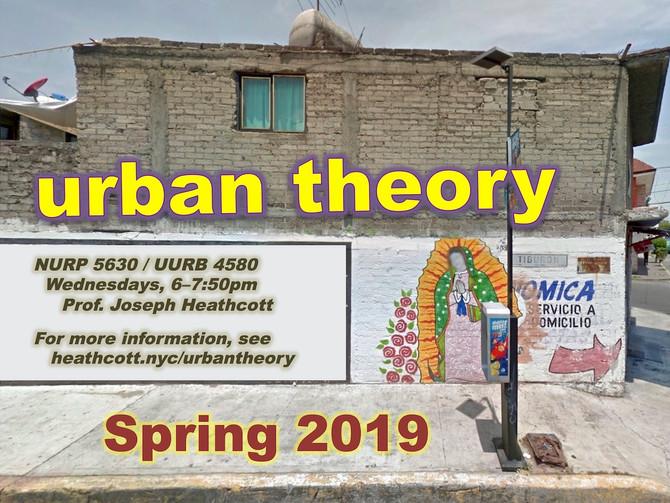 Urban Theory 2.0