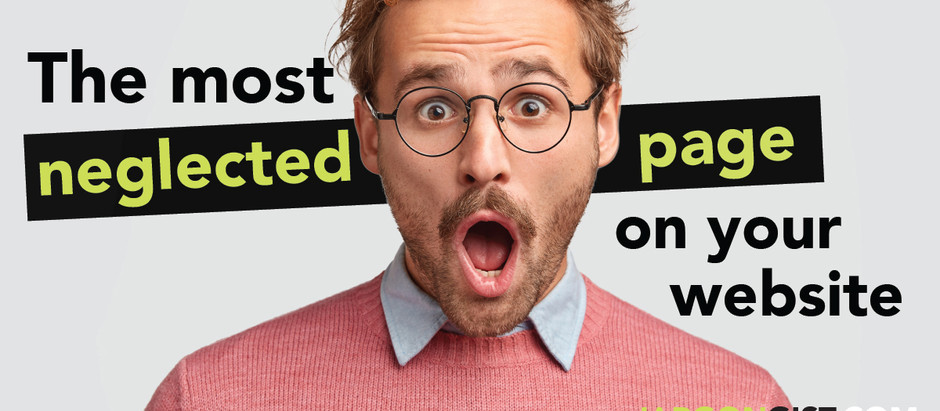The most neglected page on your website