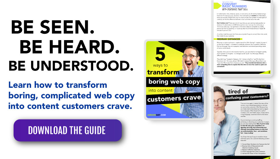 Learn how to transform boring web copy into interesting content