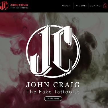 John Craig AKA The Fake Tattooist